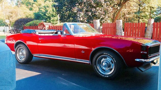 Ready To Go Topless 1967 Camaro Rs Convertible