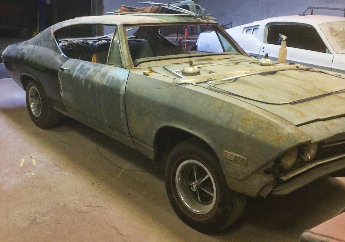 Chevelle Project Cars For Sale On Ebay