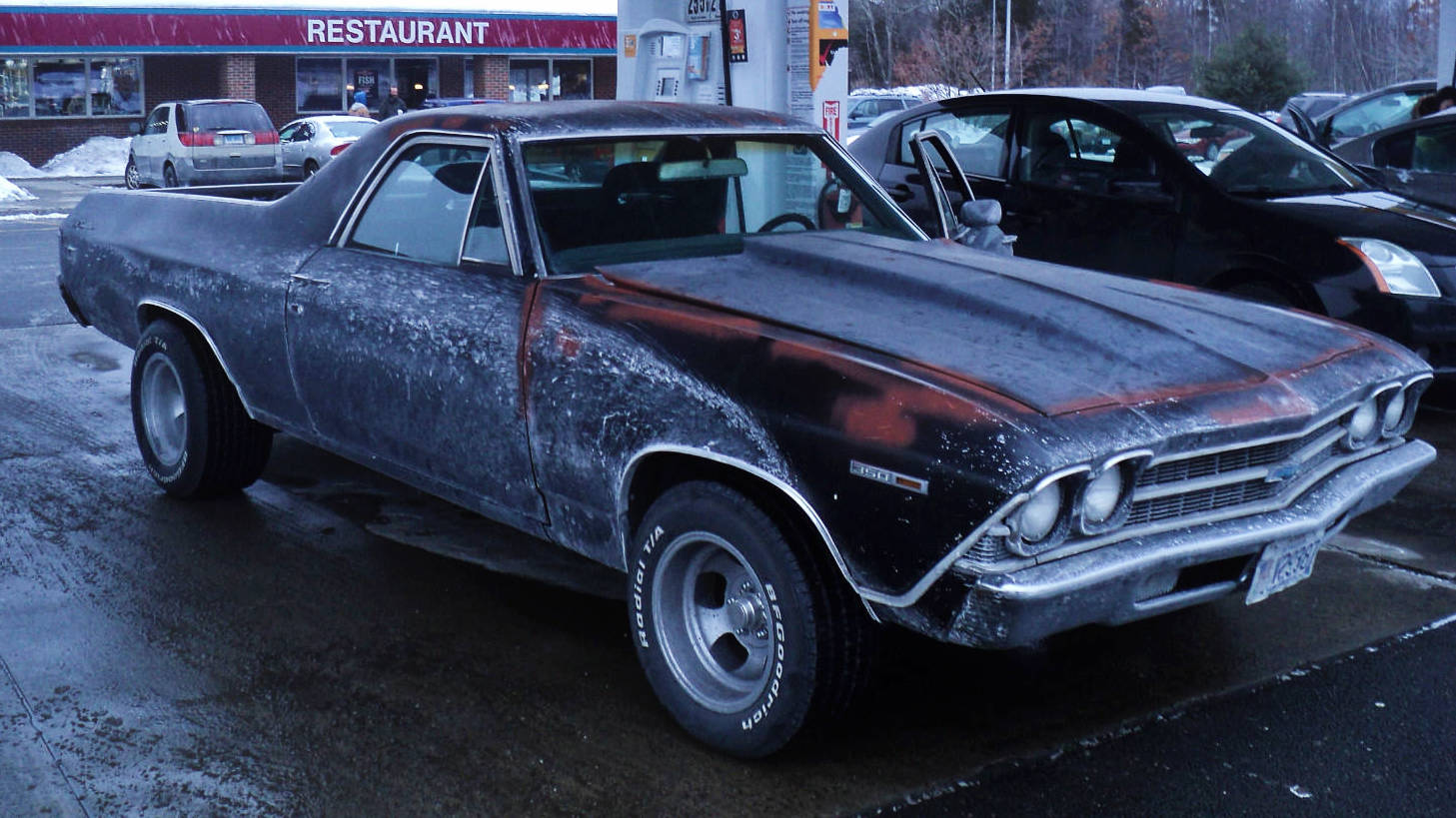 Ratty But Fast 1969 Chevy El Camino