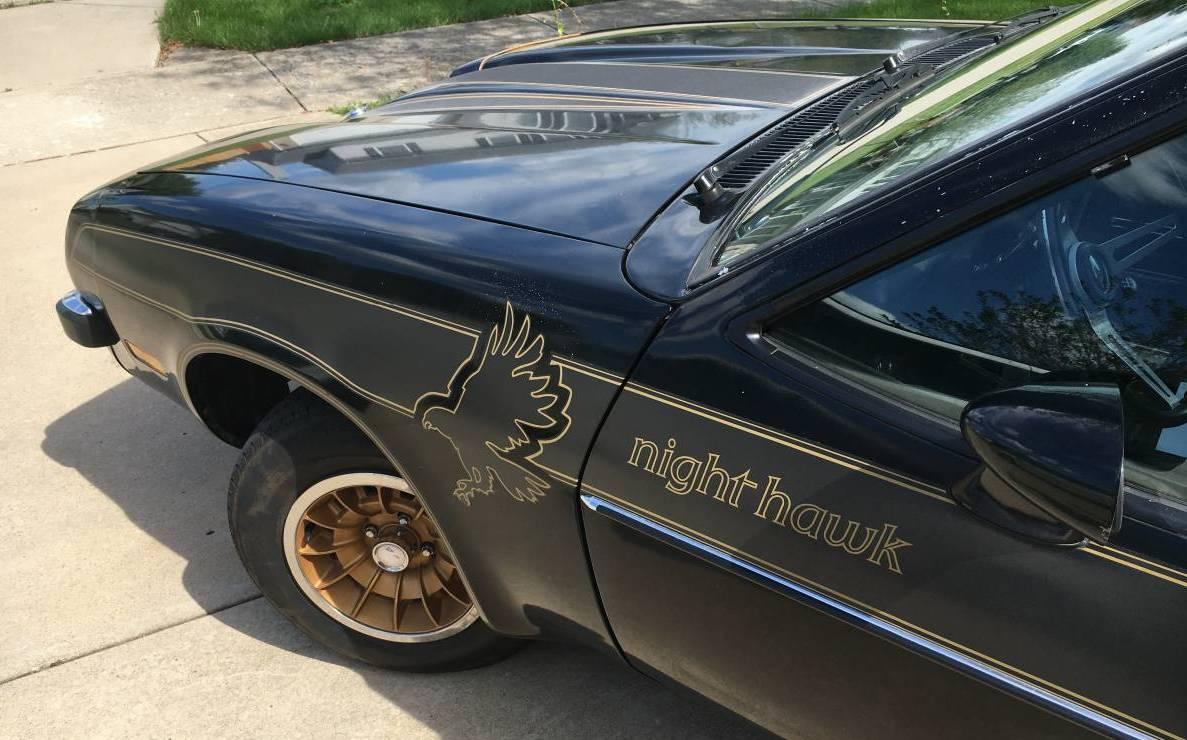 Magic Stripes: 1977 Buick Nighthawk