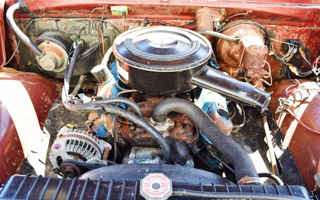 Dodge Power Wagon Engine on 1977 Dodge Power Wagon Dash