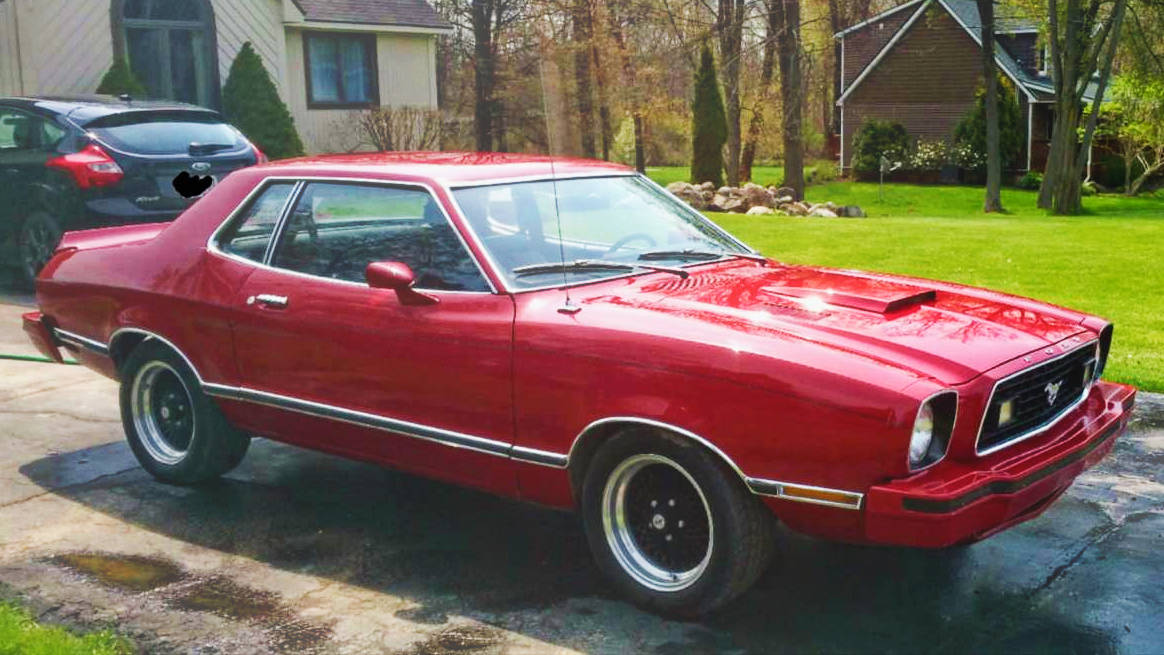 302 And A Stick 1978 Ford Mustang Ii