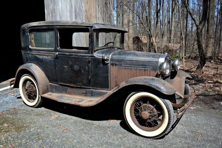 Years Forgotten Ford Model A Tudor Sedan