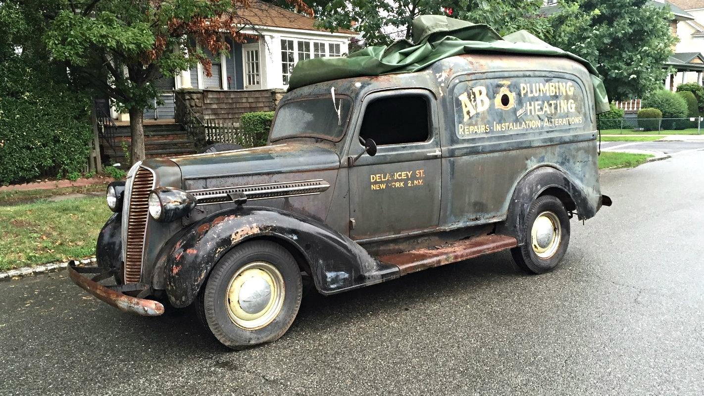 panel trucks Vintage