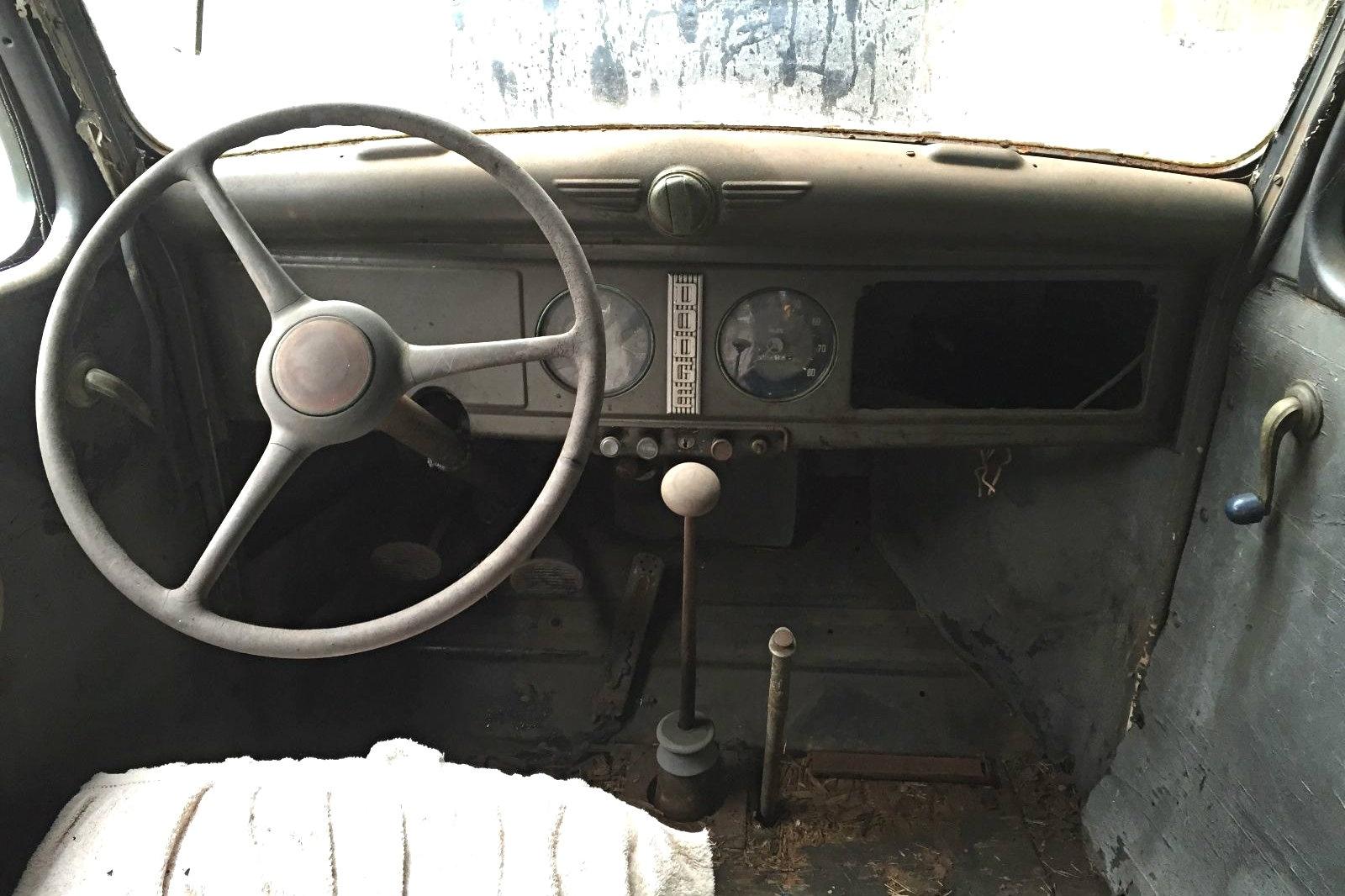Hard Working Past 1937 Dodge Humpback Panel Truck