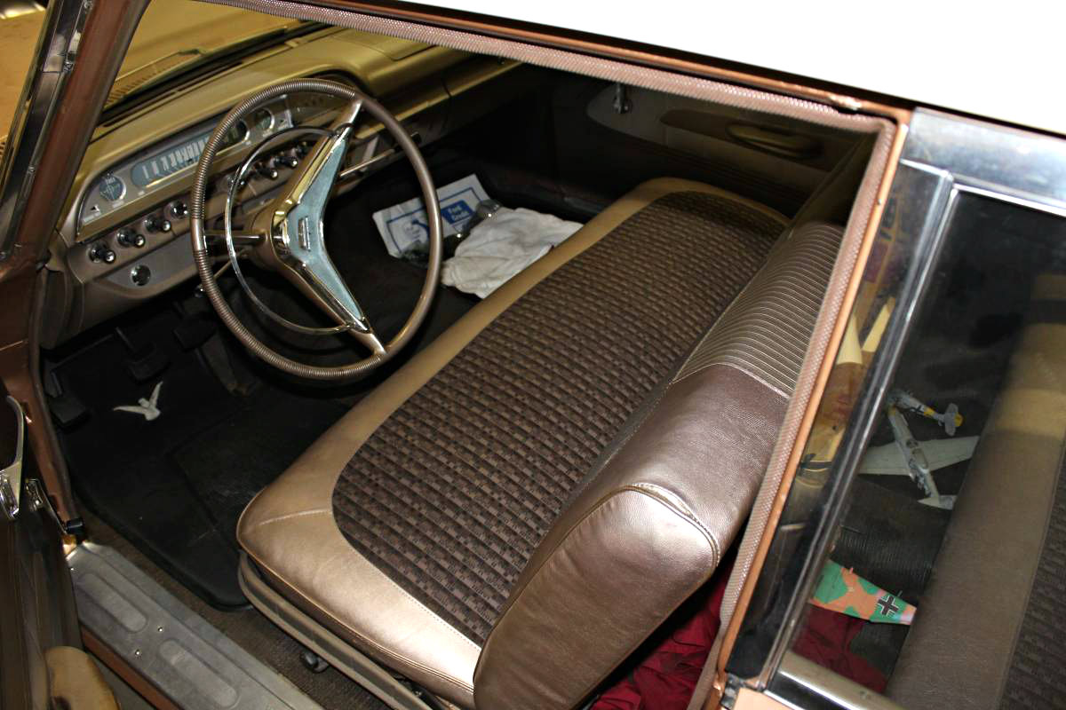 7 168 original miles 1960 ford fairlane 500. Black Bedroom Furniture Sets. Home Design Ideas