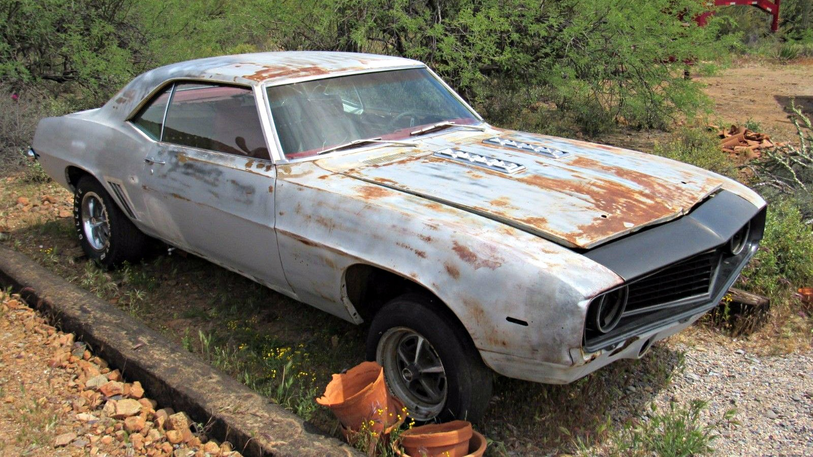 Desert Dream Find 1969 Chevrolet Camaro Ss 396