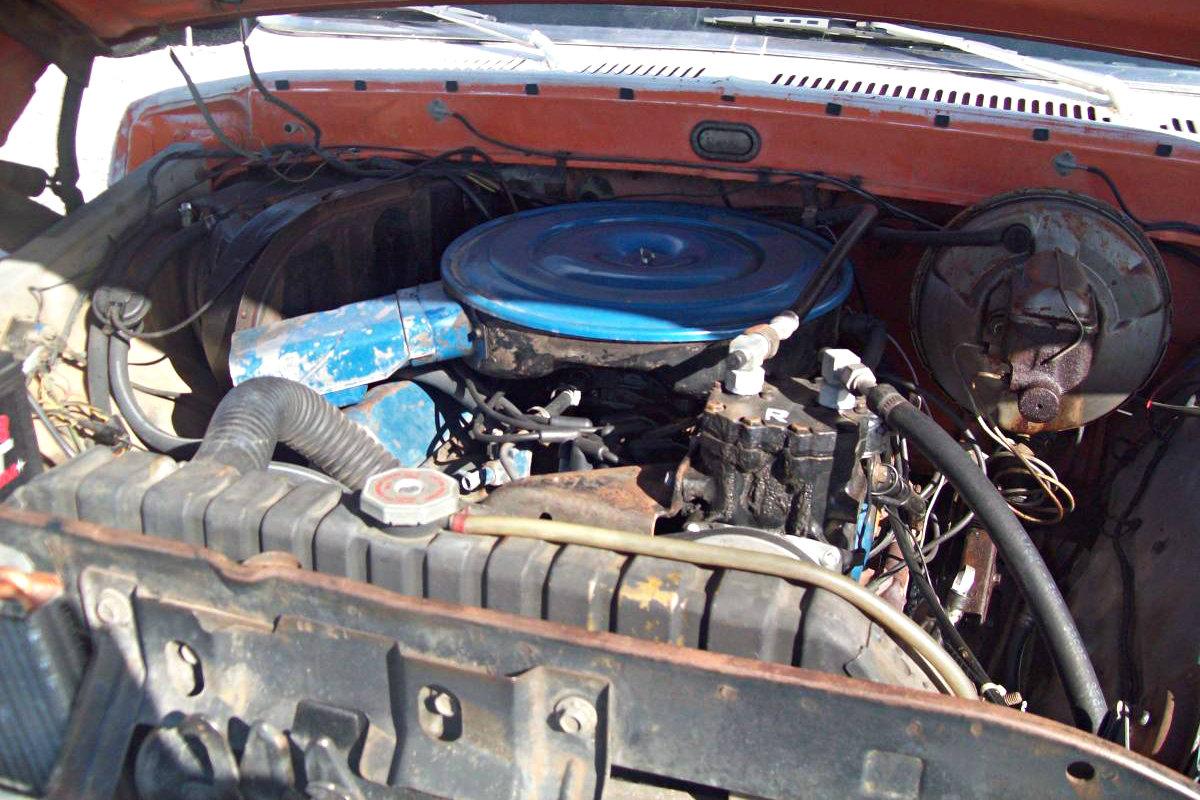 Wood Applique Delight: 1969 Ford Torino Squire Wagon