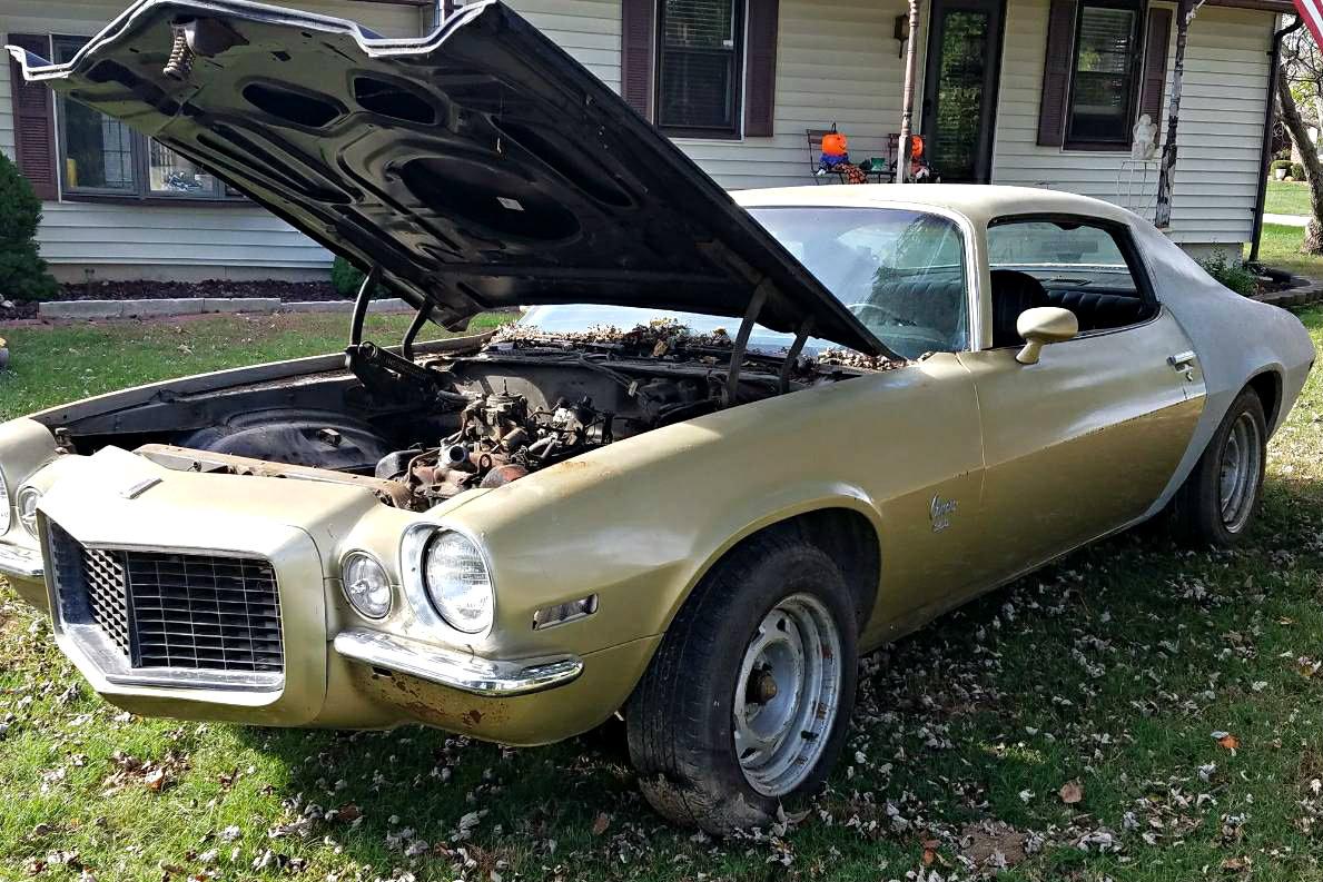 Split Bumper Delight: 1973 Chevrolet Camaro RS
