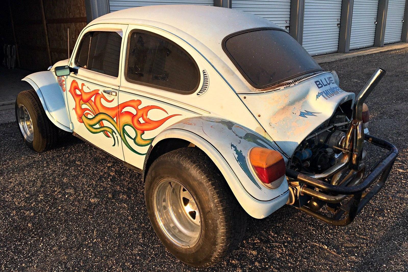 Volkswagen Sand Buggy >> Blue Thunder: 1973 Volkswagen Baja Bug