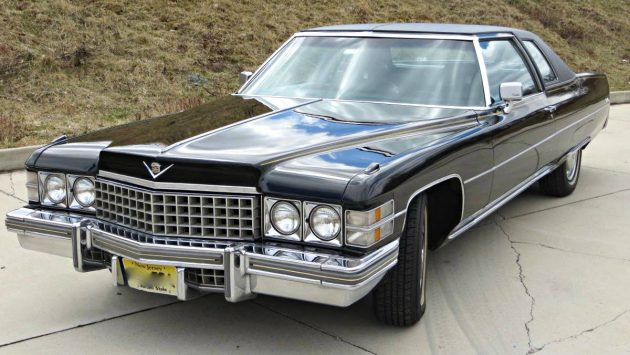 Surviving In Style: 1974 Cadillac Coupe Deville