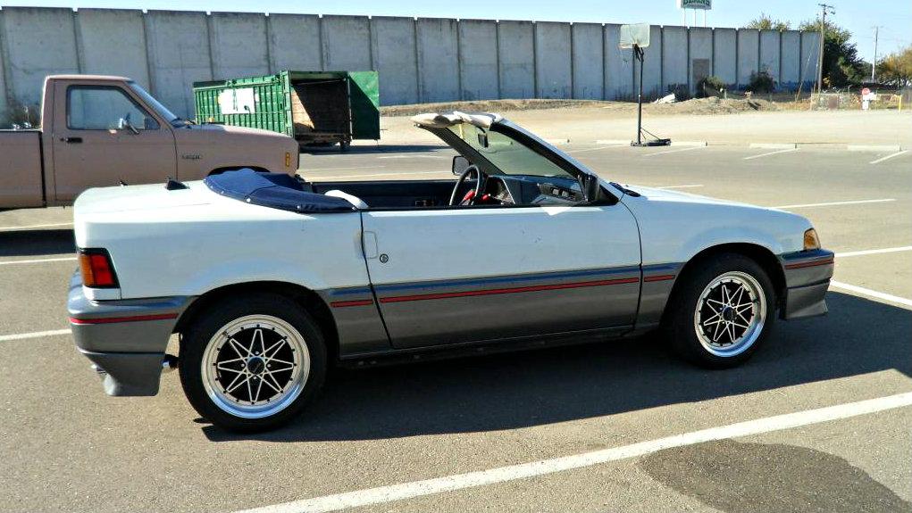 Coachbuilt Oddball: 1986 Honda CRX Straman