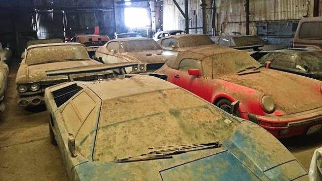 Urban Legend Barn Find Lambos And More