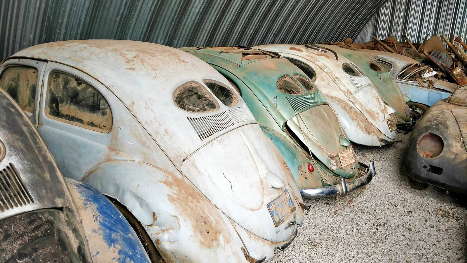 holy grail vw find split window beetle collection