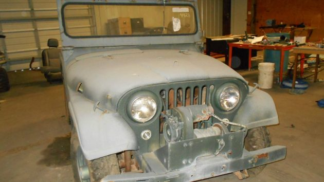 Hurricane Engined: 1958 Willys Jeep