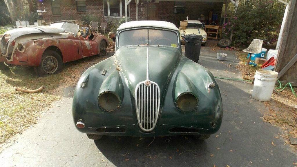 1956 Jaguar XK140 One Family Find