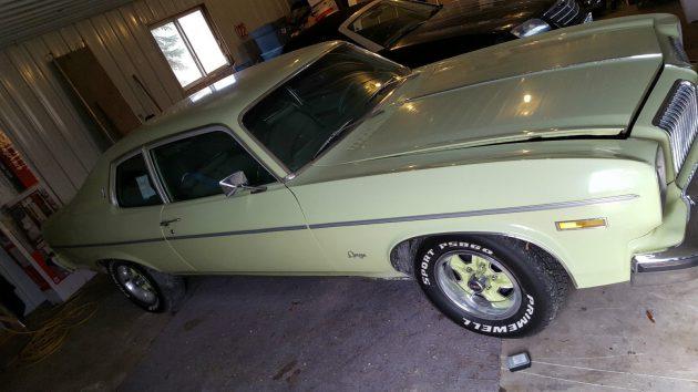 Yup, It's Green! 1974 Oldsmobile Omega