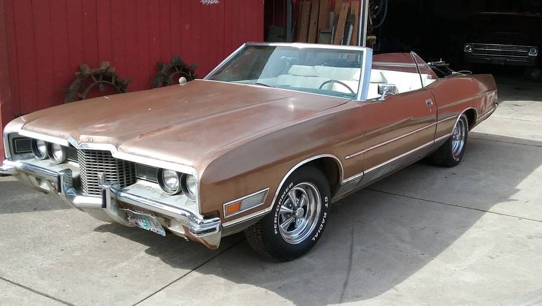 Superbly Crafted! 1971 Ford LTD Convertible