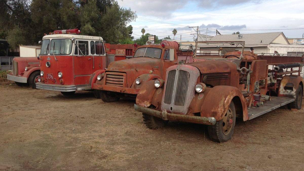 Craigslist Classifieds Los Angeles >> A Fire Fleet! Fire Trucks In El Cajon