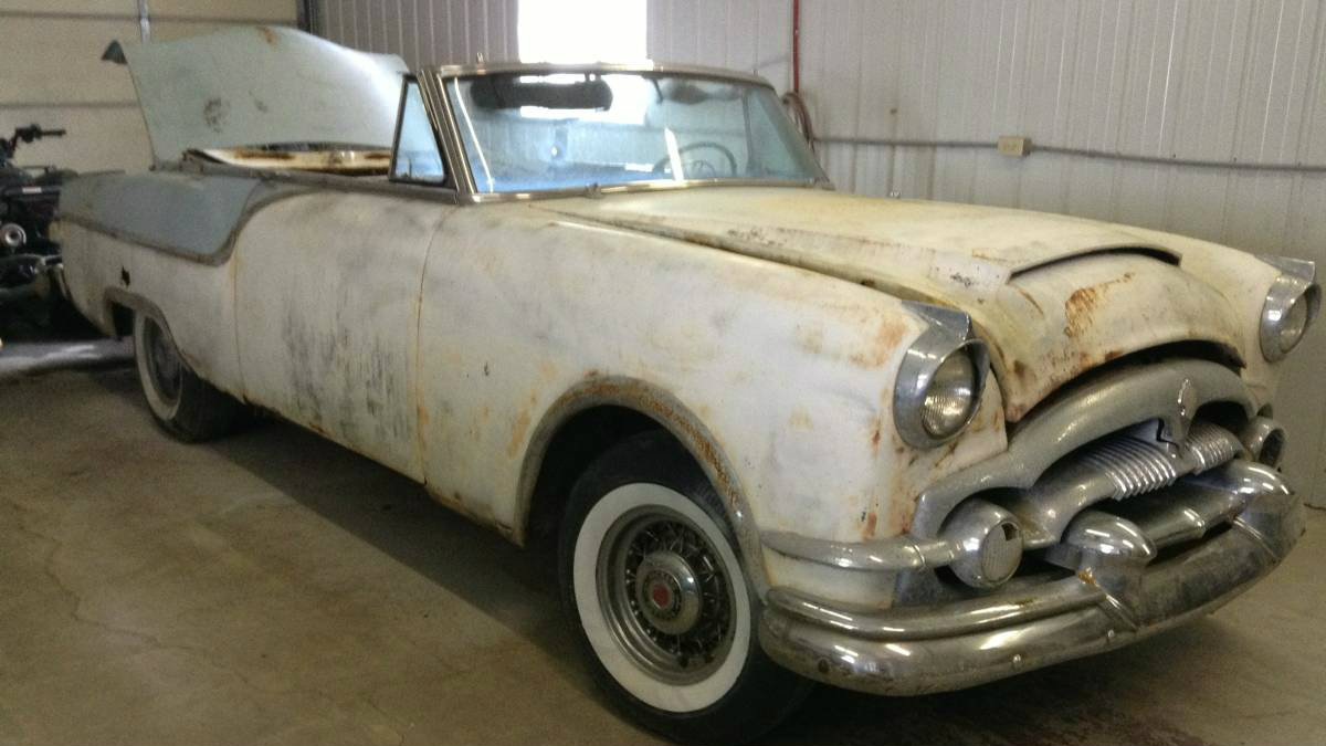 One Of 400! 1954 Packard Caribbean
