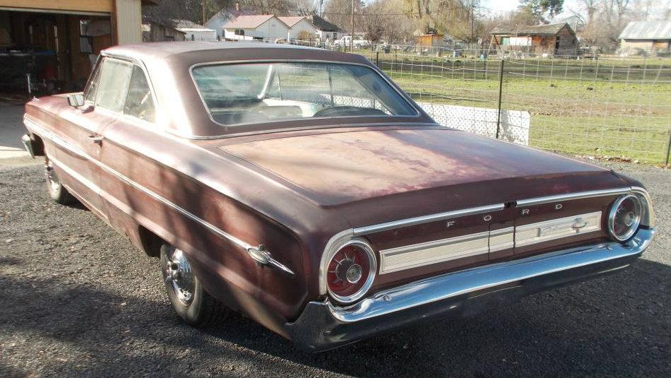 390 & A 4-Speed! 1964 Ford Galaxie