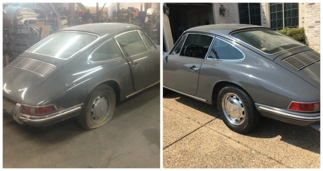 130K After Being Revived! 1966 Porsche 911