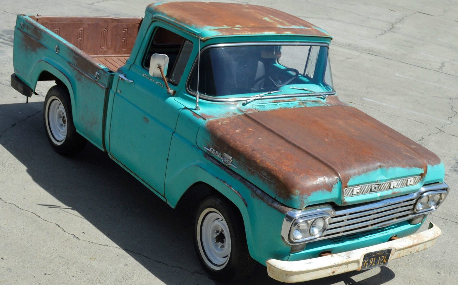 Good Old Truck 1959 Ford F 100 Short Bed