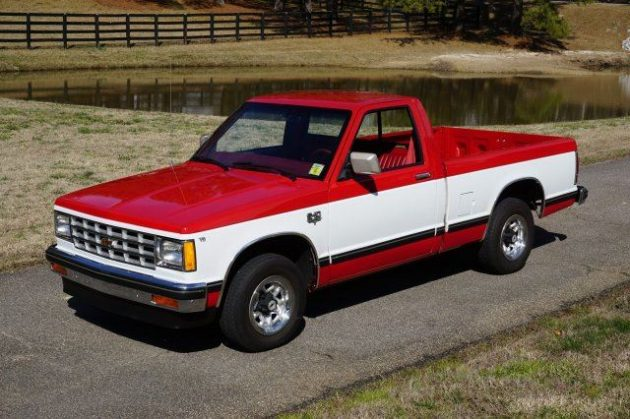 paid in full 18 000 mile 39 82 chevy s10. Black Bedroom Furniture Sets. Home Design Ideas