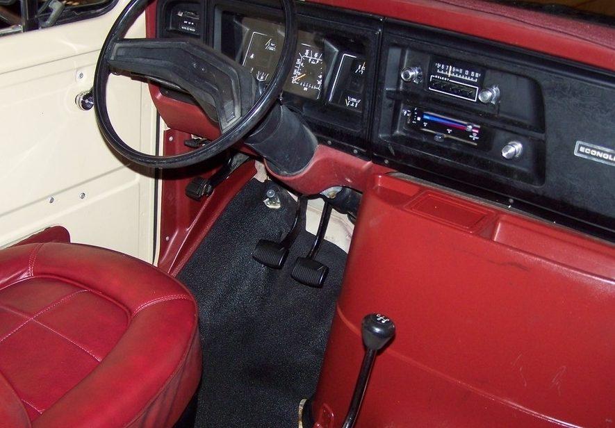Four On The Floor 1984 Ford E 150 Van
