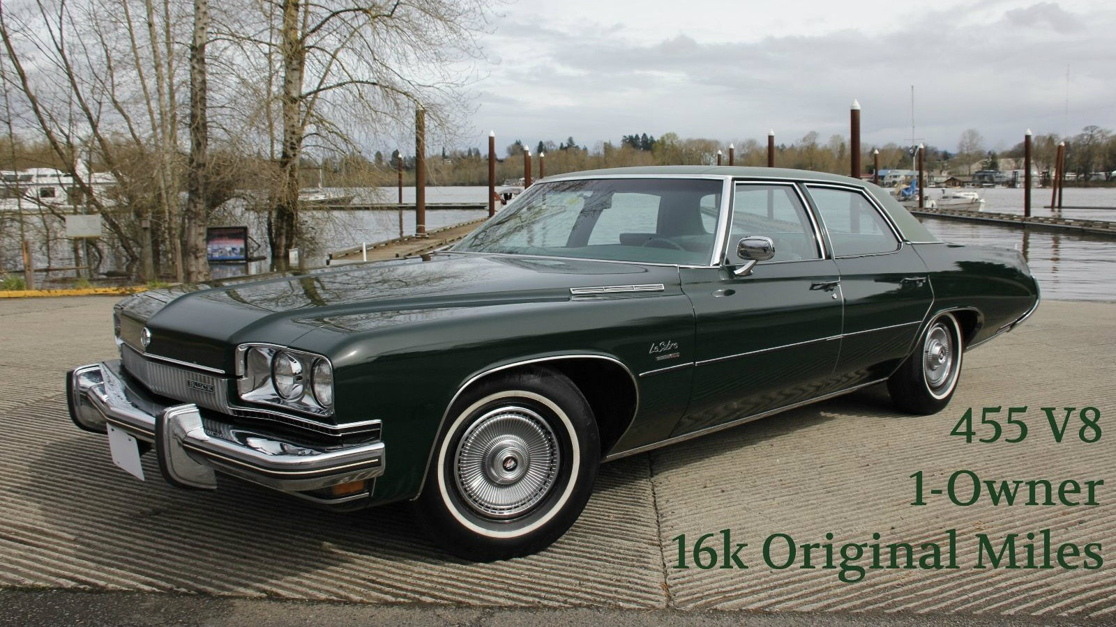 Plain Green Wrapper! 1973 Buick LeSabre With 16k Miles