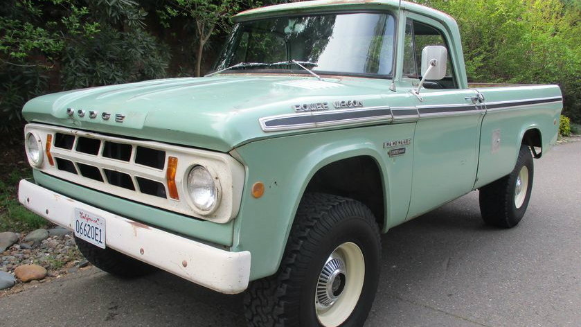 This One's Special: 1968 Dodge Power Wagon