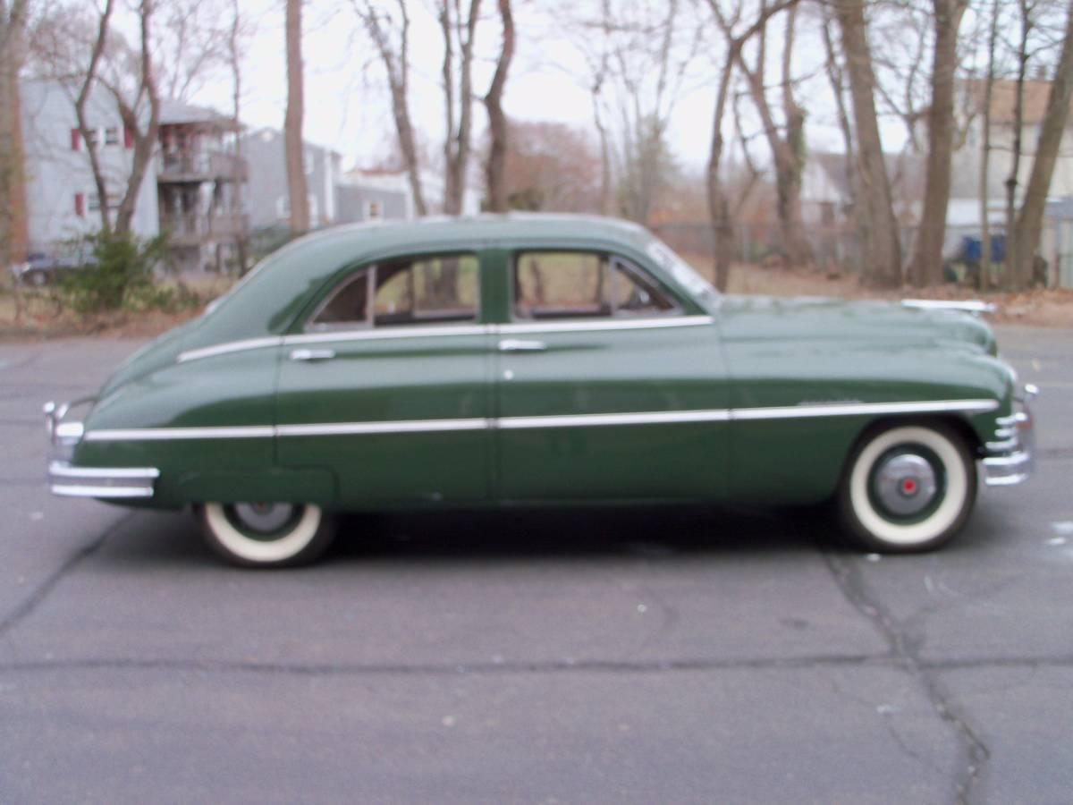 Bathtub Beauty 1949 Packard Sedan