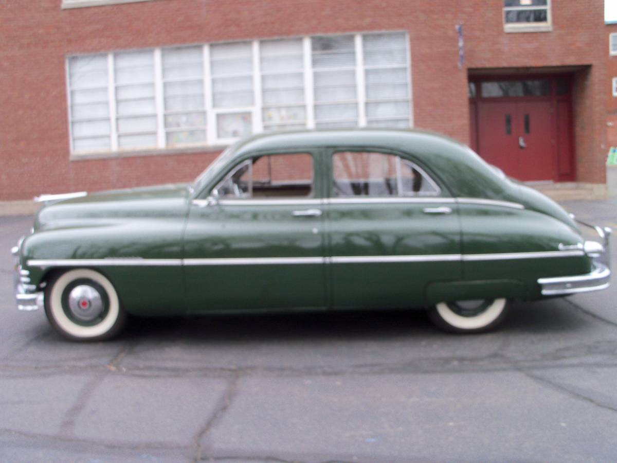 Bathtub Beauty: 1949 Packard Sedan