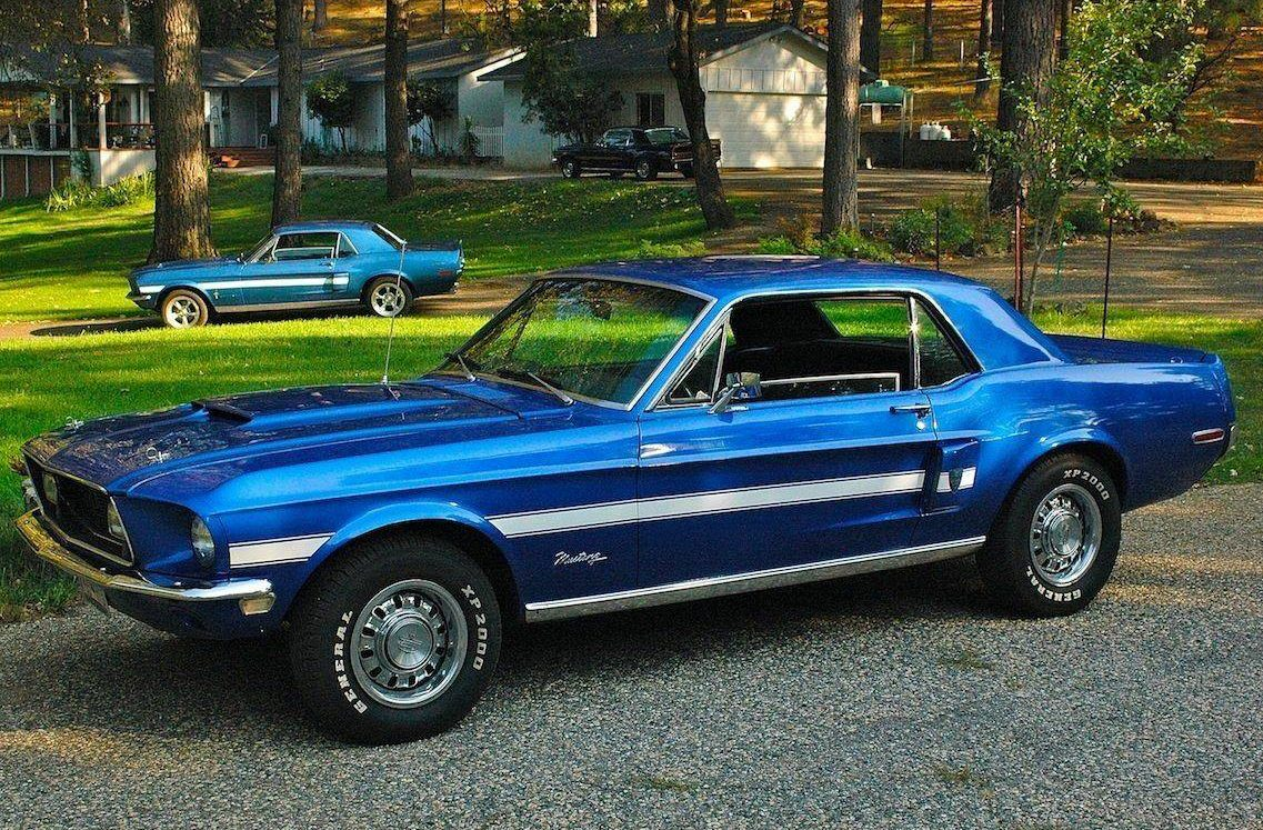 2017 Ford Colors >> High Country Special: 1968 Ford Mustang