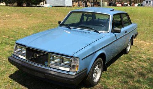 Sunroof Prototype: 1983 Volvo 242