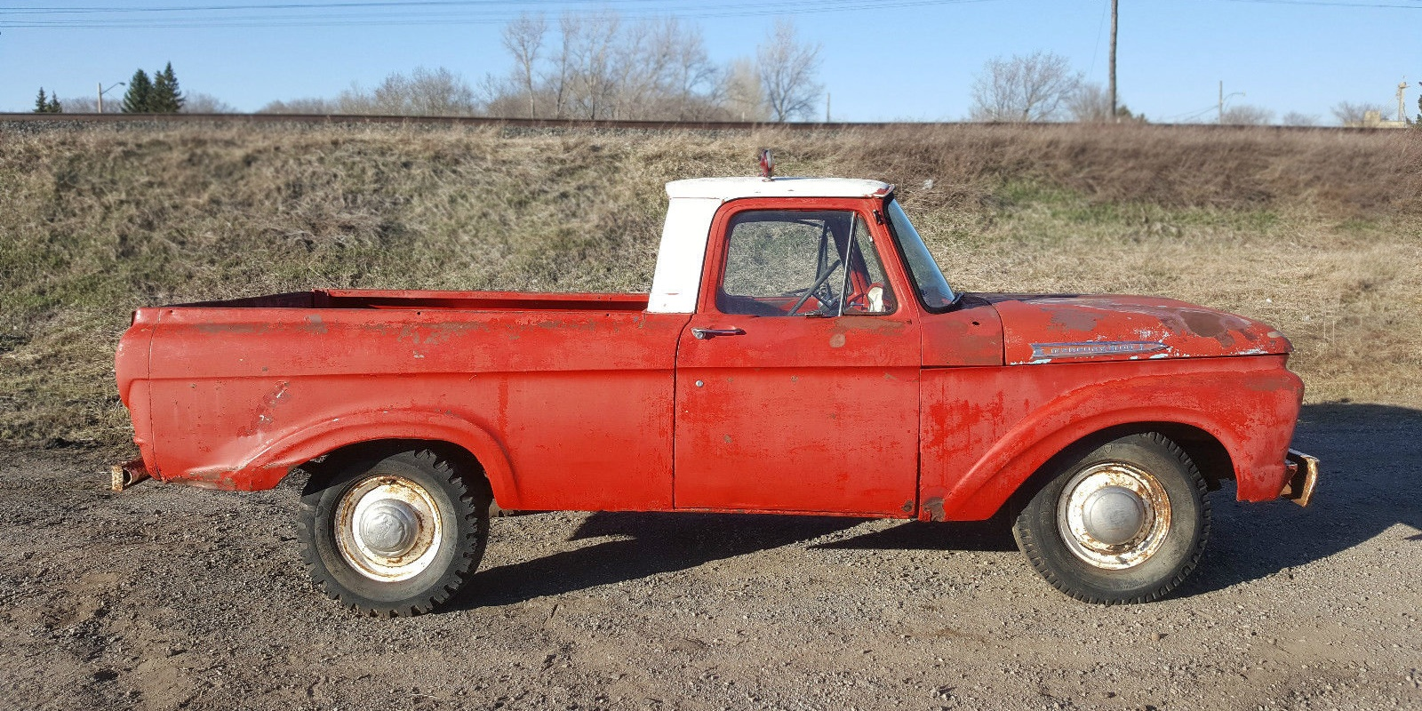 O Can A Da 1961 Mercury M 100 Unibody Dodge Pickup Truck North Dakota Where This Is Located Listed On Ebay With Current Bid Price Of 1225 And There No Reserve