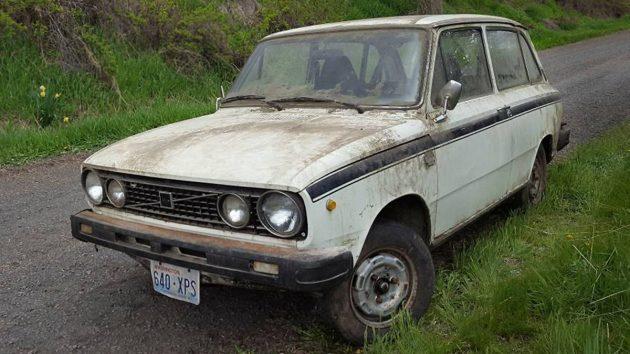 Rare Dutch Swede: 1966 Volvo 66 GL Estate