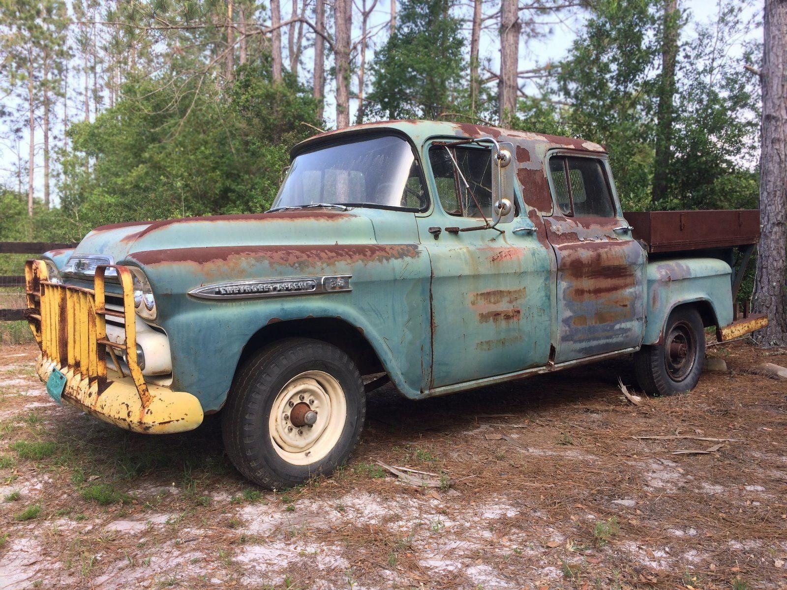 1957 Chevy Pickup Ebay Crew Cab Linked1957 Truck Ebay1956 Ebayamerican Ebayvintage Searcy Ar Bobbittvilleitems In Classicparts4u Store On