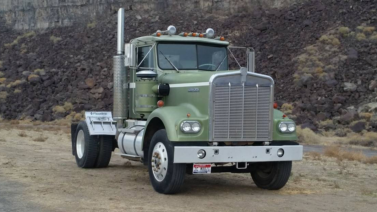 Craigslist East Idaho Cars: East Bound And Down: 1981 Kenworth W-900A