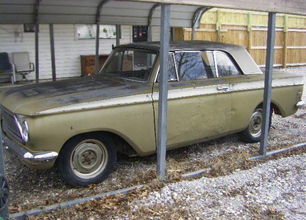 Twin Stick Hardtop: 1963 Rambler American 440