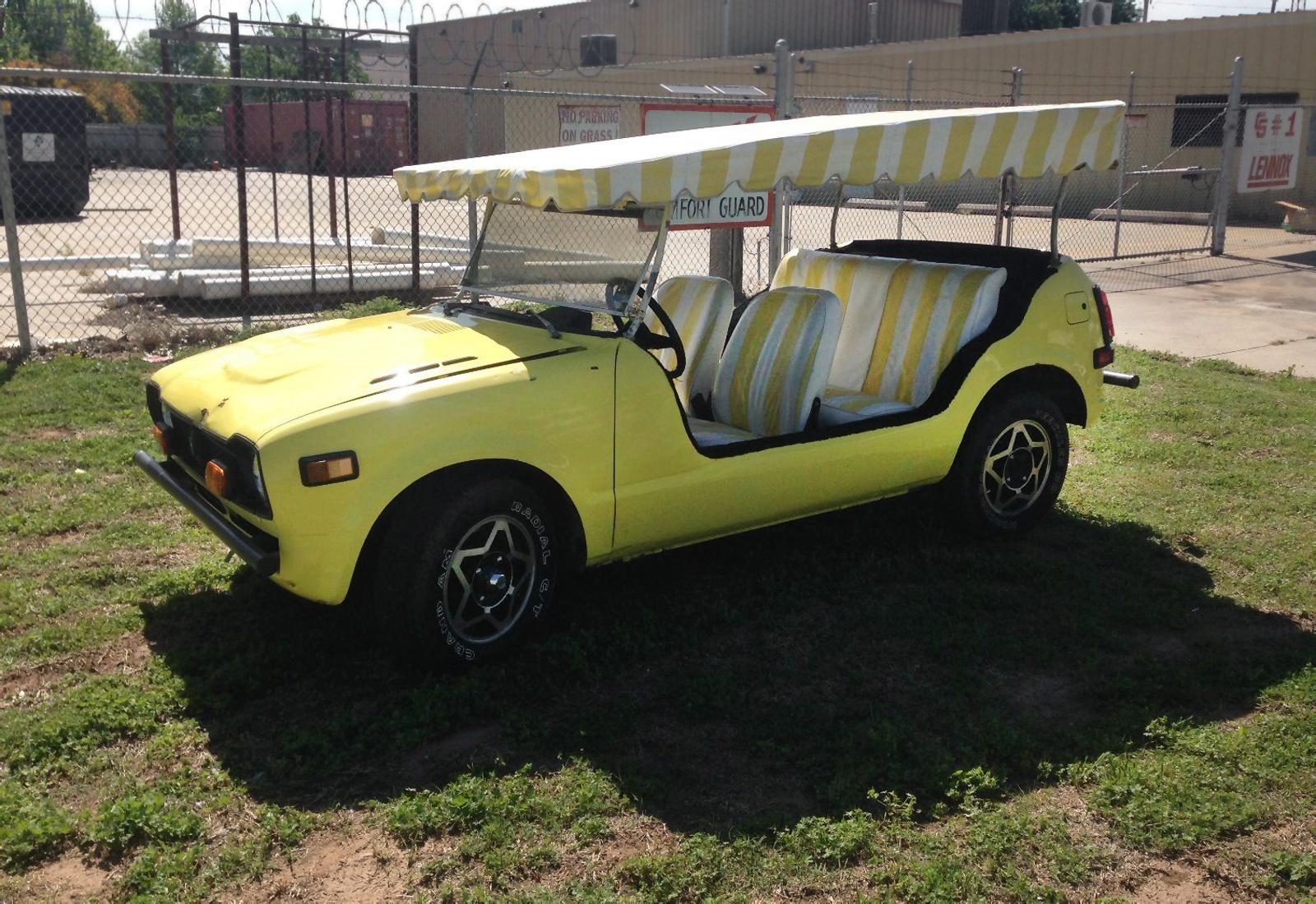 De Plane, De Plane! 1973 Honda Jolly