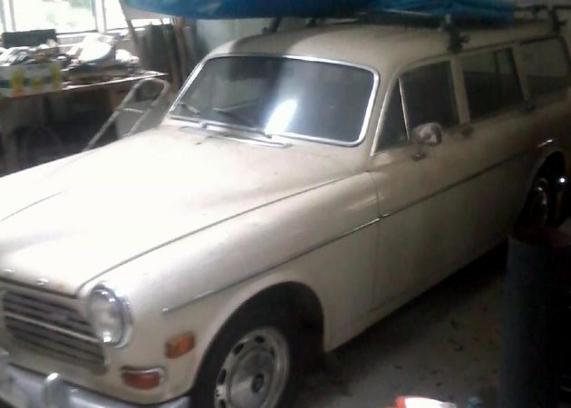 EXCLUSIVE: One Family 1968 Volvo 122S Wagon