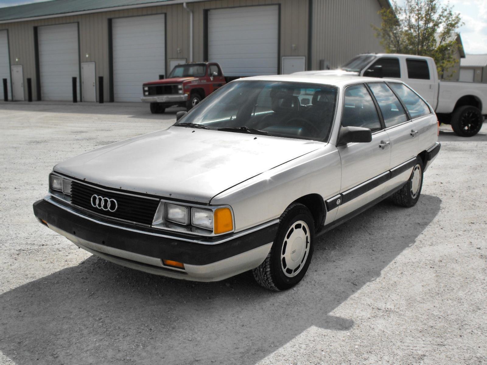 5 Speed Wagon 1985 Audi 5000 S