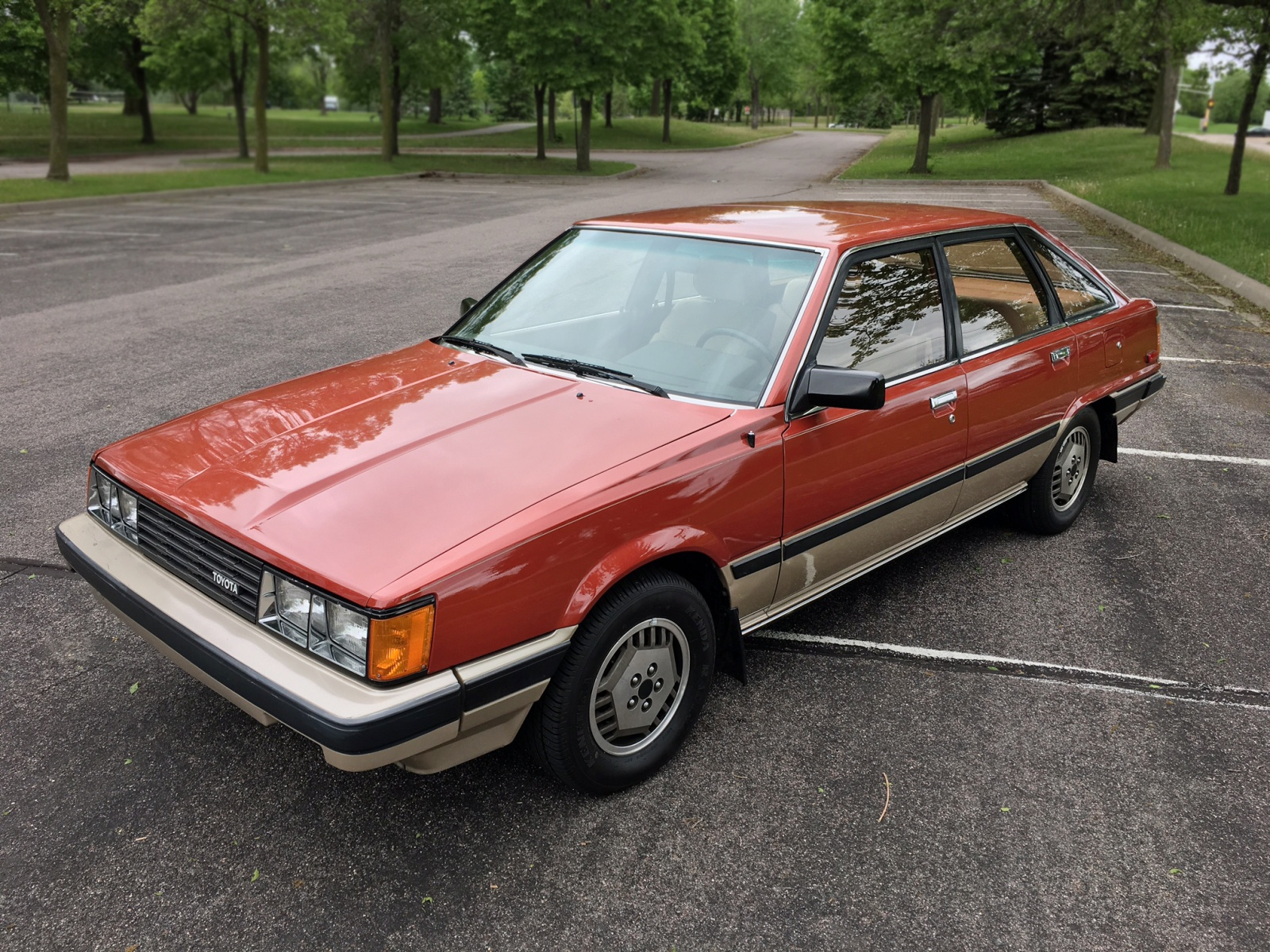 Scotty G S Garage 1984 Toyota Camry Liftback