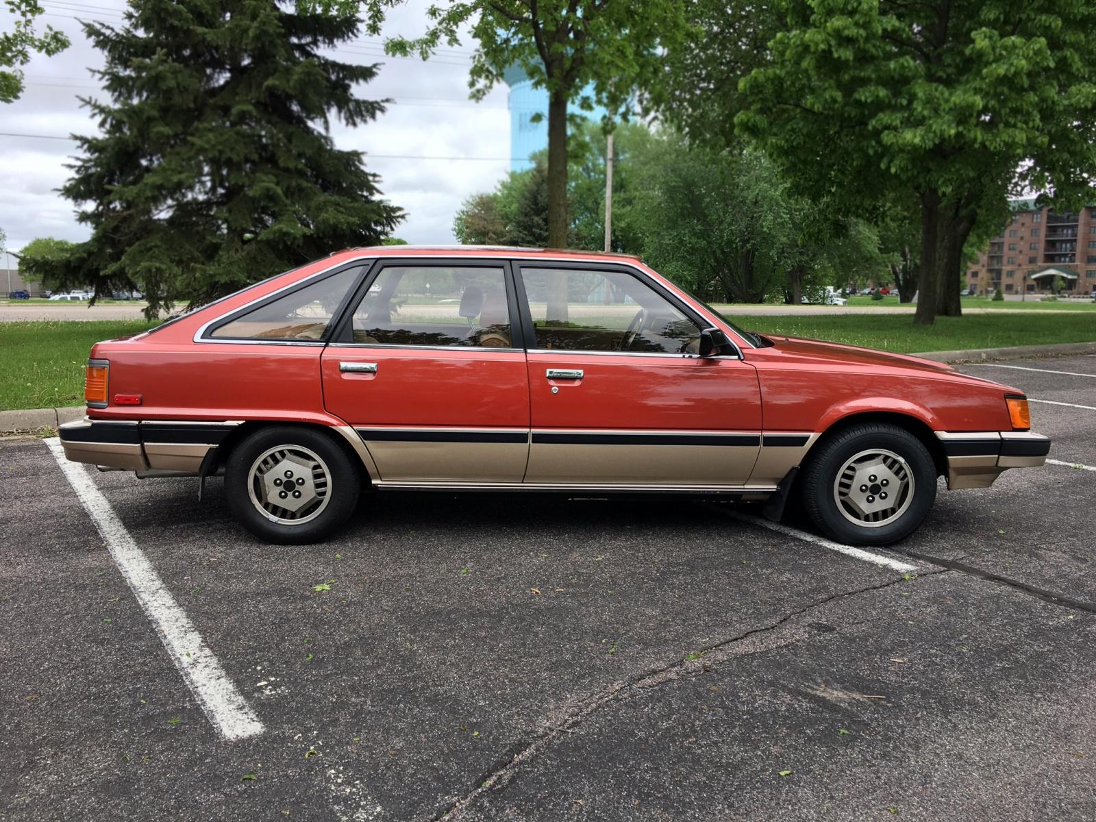 Scotty G's Garage: 1984 Toyota Camry Liftback