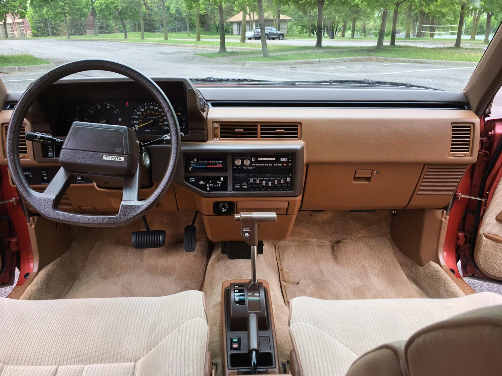 Scotty G S Garage 1984 Toyota Camry Liftback