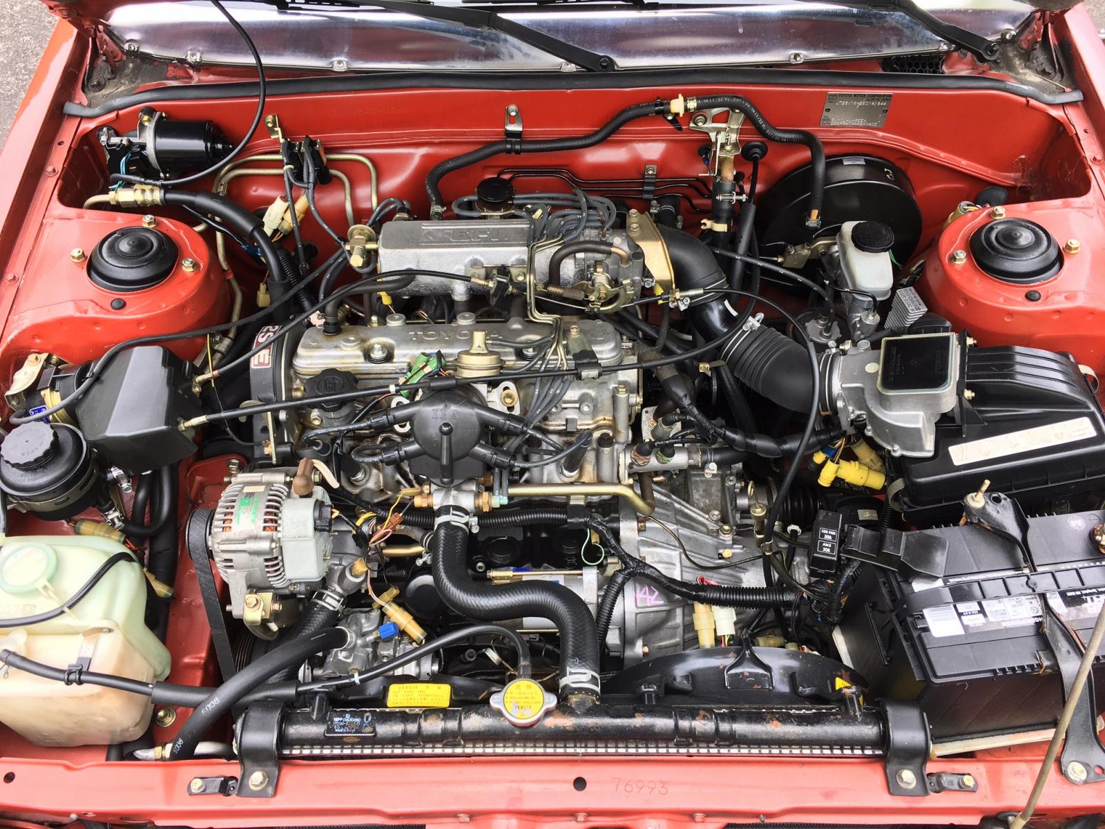 Toyota Camry Liftback on Toyota Camry Engine Paint