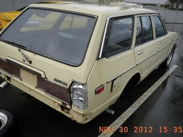 Rough but Rare: 1978 Datsun 510 Wagon