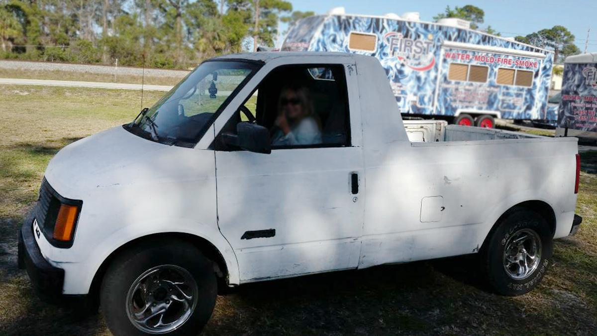 Craigslist Daytona Beach Florida >> Custom Hauler: 1992 Chevrolet Astro Pickup