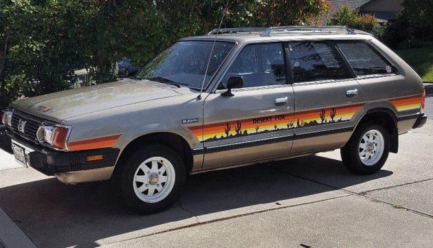 Desert Fox: 1981 Subaru GL Wagon